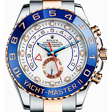 Rolex Yacht-Master II 44mm Steel and Everose Gold 116381 White